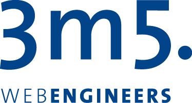 Logo 3m5 Web Engineers - Champoin Sponsor